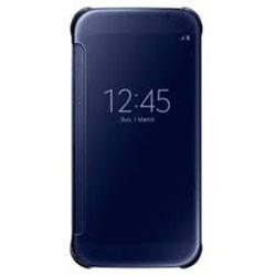 Samsung Clear View Cover for Galaxy S6 G920 , Black EF-ZG920BBEGWW