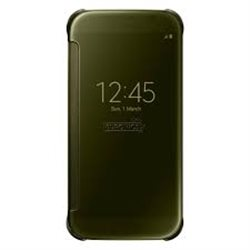 Samsung Clear View Cover for Galaxy S6 G920 , Gold EF-ZG920BFEGWW