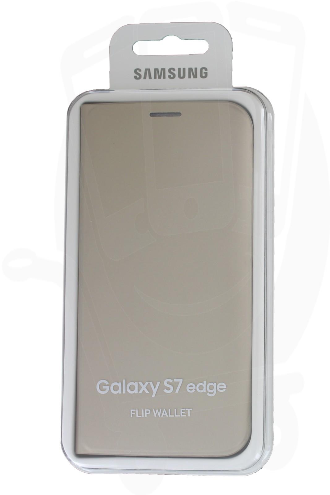 huge discount 27024 70970 EF-WG935PFEGWW Flip Wallet Samsung Galaxy S7 Edge G935 Gold - MegaTeL