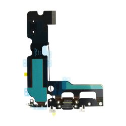 LIGHTNING CONNECTOR ASSEMBLY (DOCK FLEX BLACK) for IPHONE 7 - TTIPH7035(A)