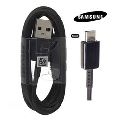 SAMSUNG S8/S8+ ,TYPE-C DATA CABLE, BLACK , BULK