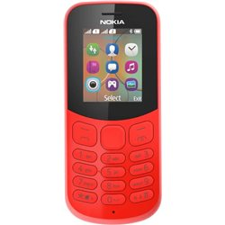 NOKIA 130(2017) DUAL SIM RED MOBILE PHONE