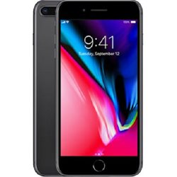 IPHONE 8 Plus, 64GB, Space Gray (BLACK), NEVER LOCKED
