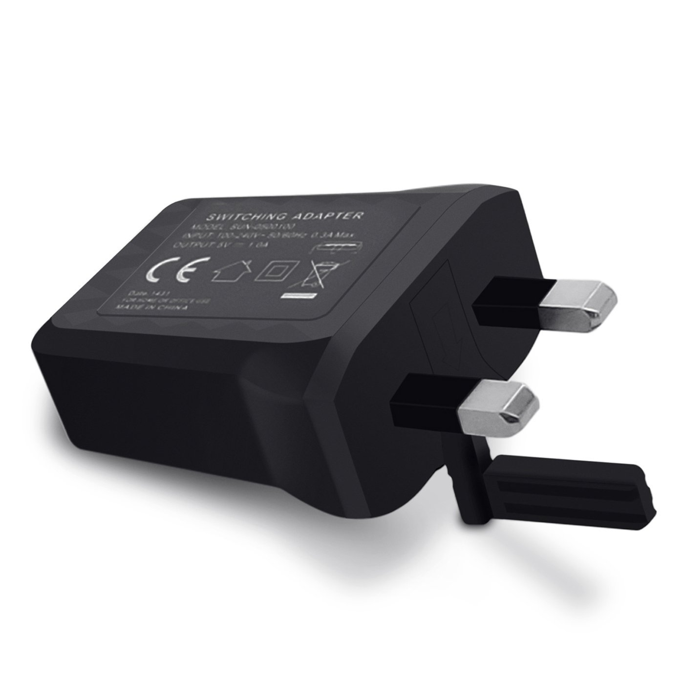Xiaomi Usb Charger 3 Pin Adapter Black Bulk Megatel Power Products Accessories Plug Wiring Te