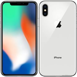 IPHONE X ,64GB ,SILVER , NEVER LOCKED