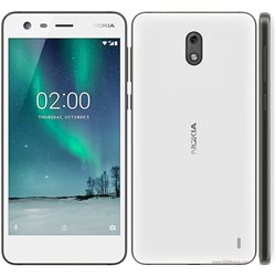 NOKIA 2 ,DUAL, WHITE MOBILE PHONE