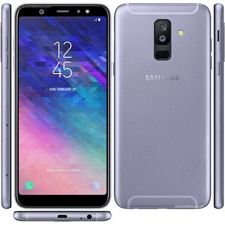 samsung galaxy a6+ ds, a605 32gb lavender mobile phone