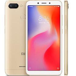 XIAOMI REDMi 6 DUAL 3GB/32GB GOLD MOBILE PHONE