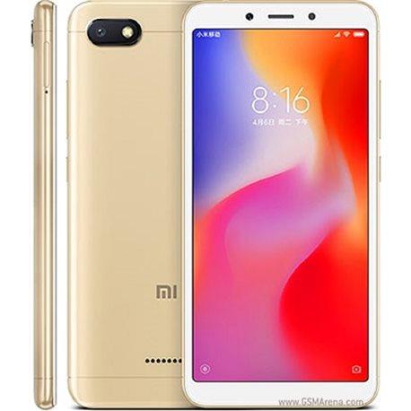 XIAOMI REDMi 6A DUAL 2GB/16GB GOLD MOBILE PHONE