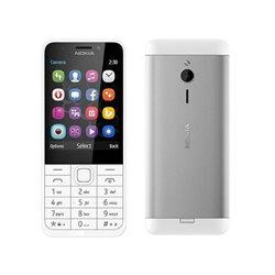 NOKIA 230 DUAL WHITE (SILVER) MOBILE PHONE