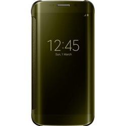 Samsung Clear Cover EF-QG920 for Galaxy S6, Gold