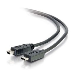 CABLE USB A/USB MINI B 1M MEG1 BLACK