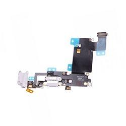 AUDIO DOCK CONNECTOR FLEX, SILVER for IPHONE 6S PLUS (TTIPH6SP037C)