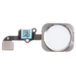 HOME BUTTON + FLEX ASSEMBLY, SILVER for IPHONE 6S (TTIPH6S996D)