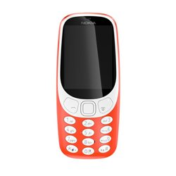 NOKIA 3310 SS , WARM RED MOBILE PHONE