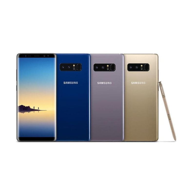 SAMSUNG GALAXY Note 8 DS, 64GB, BLUE MOBILE PHONE - MegaTeL