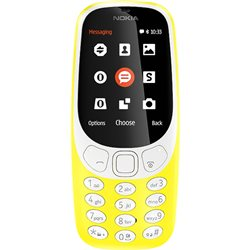 NOKIA 3310 DUAL,YELLOW MOBILE PHONE