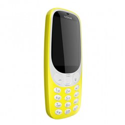 NOKIA 3310 SS , YELLOW MOBILE PHONE