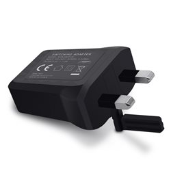 XIAOMI USB CHARGER, 3 PIN ADAPTER, BLACK, BULK