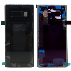 Back glass cover N950 Black, SAMSUNG GALAXY NOTE 8