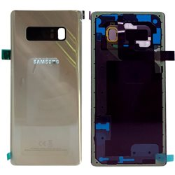 Back glass cover N950 Gold, SAMSUNG GALAXY NOTE 8