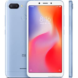 XIAOMI REDMi 6 DUAL 3GB/32GB BLUE MOBILE PHONE