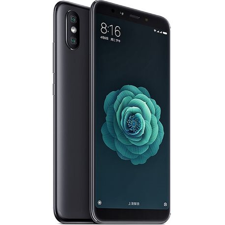XIAOMI Mi A2 DUAL 4GB/64GB BLACK MOBILE PHONE