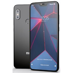 XIAOMI REDMi NOTE 6 PRO DUAL 4GB/64GB BLACK MOBILE PHONE