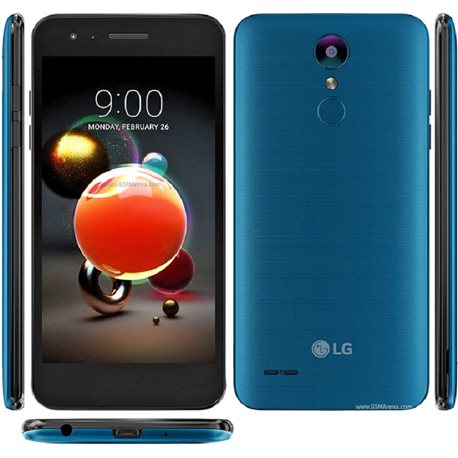 LG K9 (2018), LM-X210 , MOROCCAN BLUE MOBILE PHONE