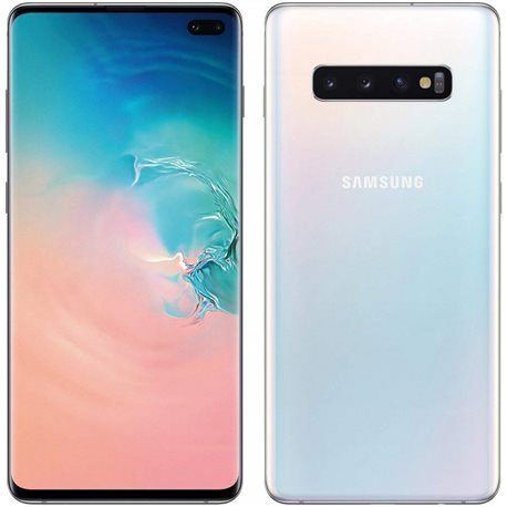 SAMSUNG GALAXY S10+ DS G975 128GB PRISM WHITE MOBILE PHONE