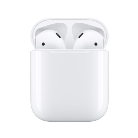 APPLE AIRPODS 2 WITH CHARGING CASE, BLUETOOTH HANDSFREE WHITE