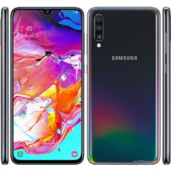 SAMSUNG GALAXY A705/A70(2019) DUAL SIM 128GB BLACK MOBILE PHONE
