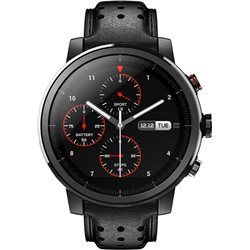 XIAOMI AMAZFIT PACE 2 Stratos Plus Smart Watch Black