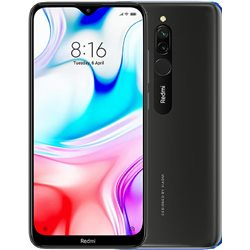 XIAOMI REDMi 8 DUAL 3GB/32GB ONYX BLACK MOBILE PHONE