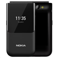 NOKIA 2720 DUAL BLACK FOLD MOBILE PHONE