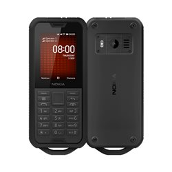 NOKIA 800 DUAL BLACK MOBILE PHONE