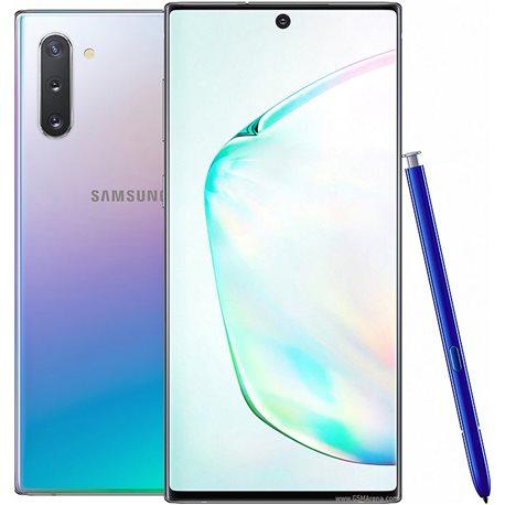 SAMSUNG GALAXY NOTE 10 DUAL N970 256GB AURA GLOW MOBILE PHONE