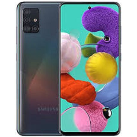 SAMSUNG GALAXY A515/A51(2019) DUAL SIM 128GB CRUSH BLACK MOBILE PHONE