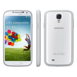 EF-PI950BWEGWW Case for Galaxy S IV silicon case cover for Samsung Galaxy S IV White (Protective Cov