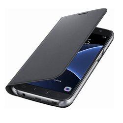 Samsung Flip Wallet PU EF-WG930 for Galaxy S7, BLACK
