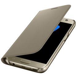 Samsung Flip Wallet PU EF-WG930 for Galaxy S7 G930, GOLD