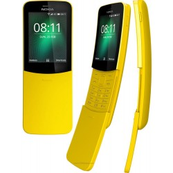 NOKIA 8110 4G DUAL SIM YELLOW MOBILE PHONE