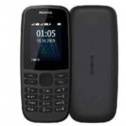NOKIA 105(2019) DUAL SIM BLACK MOBILE PHONE