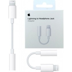 APPLE , LIGHTNING TO 3.5mm JACK ADAPTER , ORIGINAL