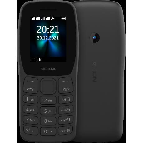 NOKIA 110 DUAL SIM BLACK MOBILE PHONE