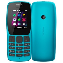 NOKIA 110 DUAL SIM BLUE MOBILE PHONE