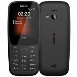 NOKIA 220 (2019) DUAL SIM BLACK MOBILE PHONE