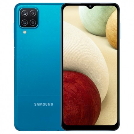 SAMSUNG GALAXY A12 4/128GB (A125) DS BLUE MOBILE PHONE