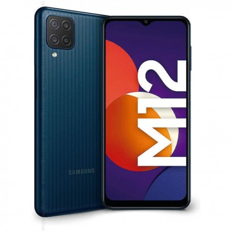 SAMSUNG GALAXY M12 4/64GB (M127) DS BLACK MOBILE PHONE