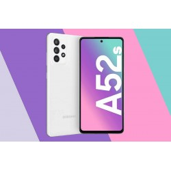 SAMSUNG A528 GALAXY A52s 5G 6/128GB DS WHITE MOBILE PHONE